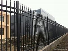 白鋼噴塗鐵柵欄