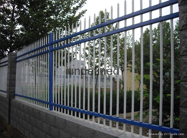 别墅围墙铁栅栏 2