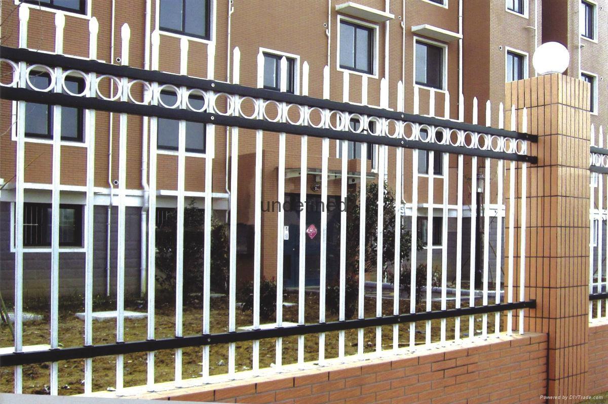 别墅围墙铁栅栏 3