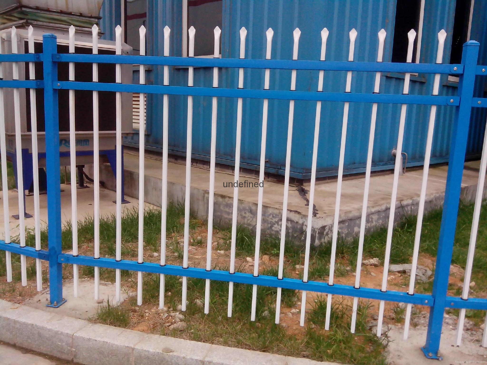别墅围墙铁栅栏 5