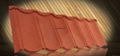 7 waves Cheap stone coated metal roof tile asphalt roofing tiles