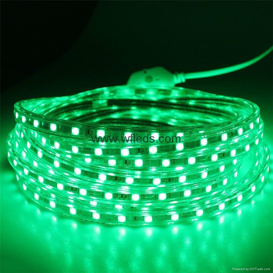 lampes led ruban led 220v 110v bleu blanc flexible led strip lights smd5050 wf 5050 60leds. Black Bedroom Furniture Sets. Home Design Ideas