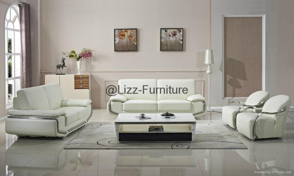 Sectional Genuine Leather Sofa Lz345