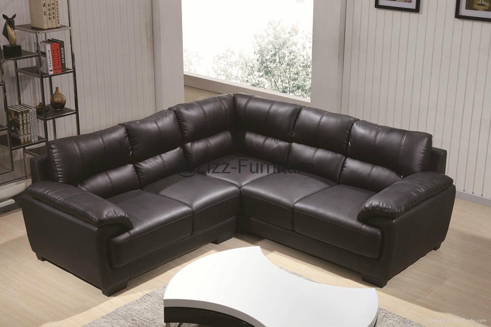 new design modern sofa l shape leather sofa lz371 lizz china manufacturer living room. Black Bedroom Furniture Sets. Home Design Ideas