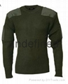 Army Style Acrylic Pullover