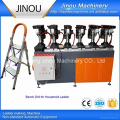 Drilling machine for household ladders