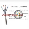 CAT.7 S/FTP LAN cable 4Pairs PVC Sheath