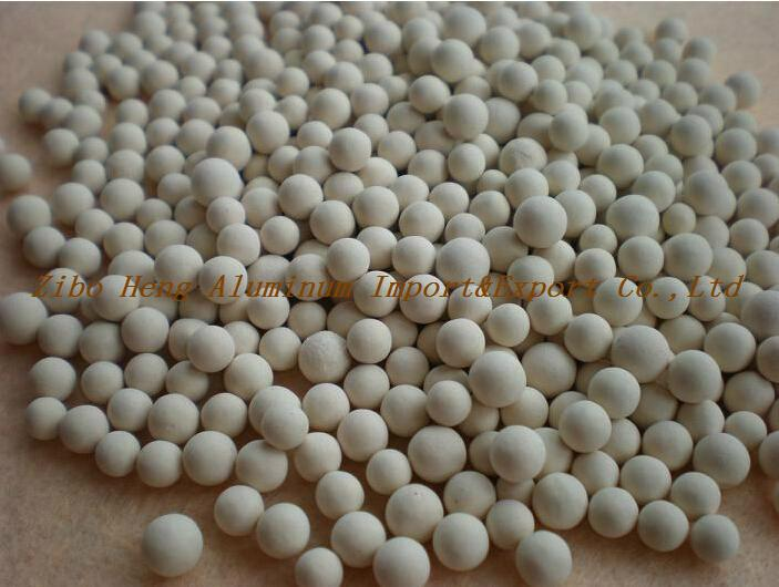 Activated alumina for adsorbent 2