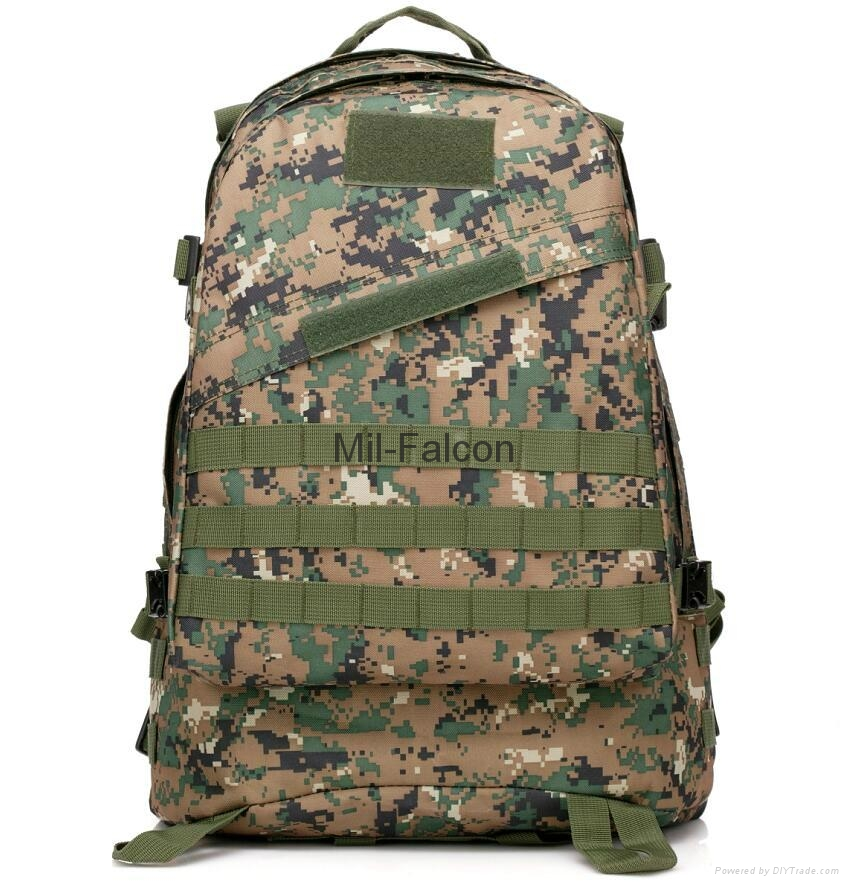 fd5ca041108d Mil-Falcon 3D durable backpack wholesale OEM tactical bag camouflage  backpack 1 ...