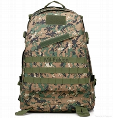 Mil-Falcon 3D durable backpack wholesale OEM tactical bag camouflage backpack