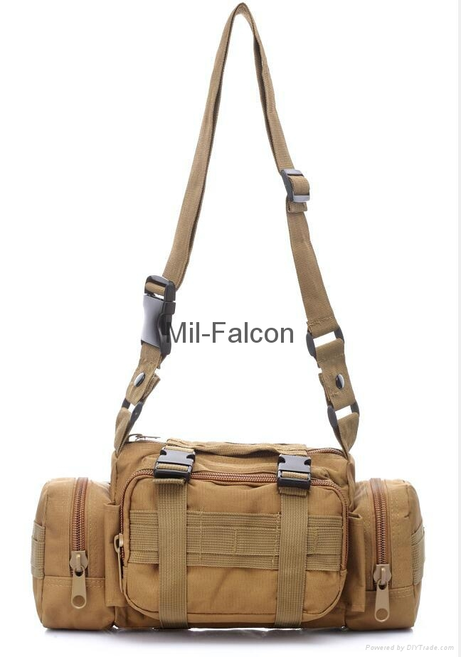 Mil-Falcon single shoulder Camera bag combat molle system wholesale and OEM/ODM  5