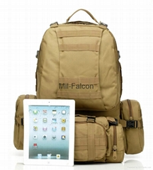 Mil-Falcon hot sales military molle  backpack for camping hiking hunting big bag