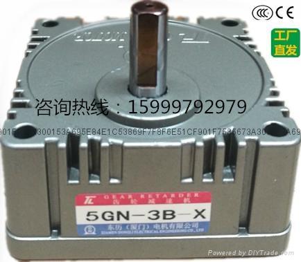 厂家直销台湾东力5GN-3B-X齿轮减速箱 4