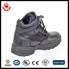 All OEM/ODM welcomed hot sale genuine leather black army/combat/ military boot