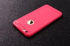 2017 New Slim Thin Colors Matte Silicone Phone Case TPU Rubber Soft back case