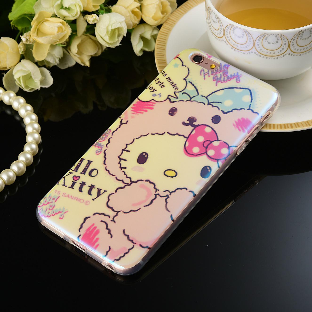 hello kitty 蘋果6/7防摔手機殼保護套 3
