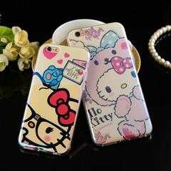 hello kitty 蘋果6/7防摔手機殼保護套