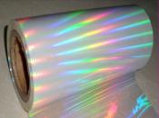 BOPP PVC PET Hologram film laser film packing material