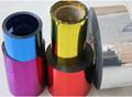 metallized film laser film BOPP PET PVC FOR packing  2