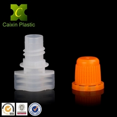8.2mm plastic spout with cap for baby food spouted pouch flexible packaging