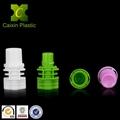 Plastic pout cap for beverage juice