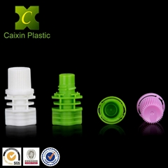 Plastic pout cap for beverage juice soybean milk water spouch