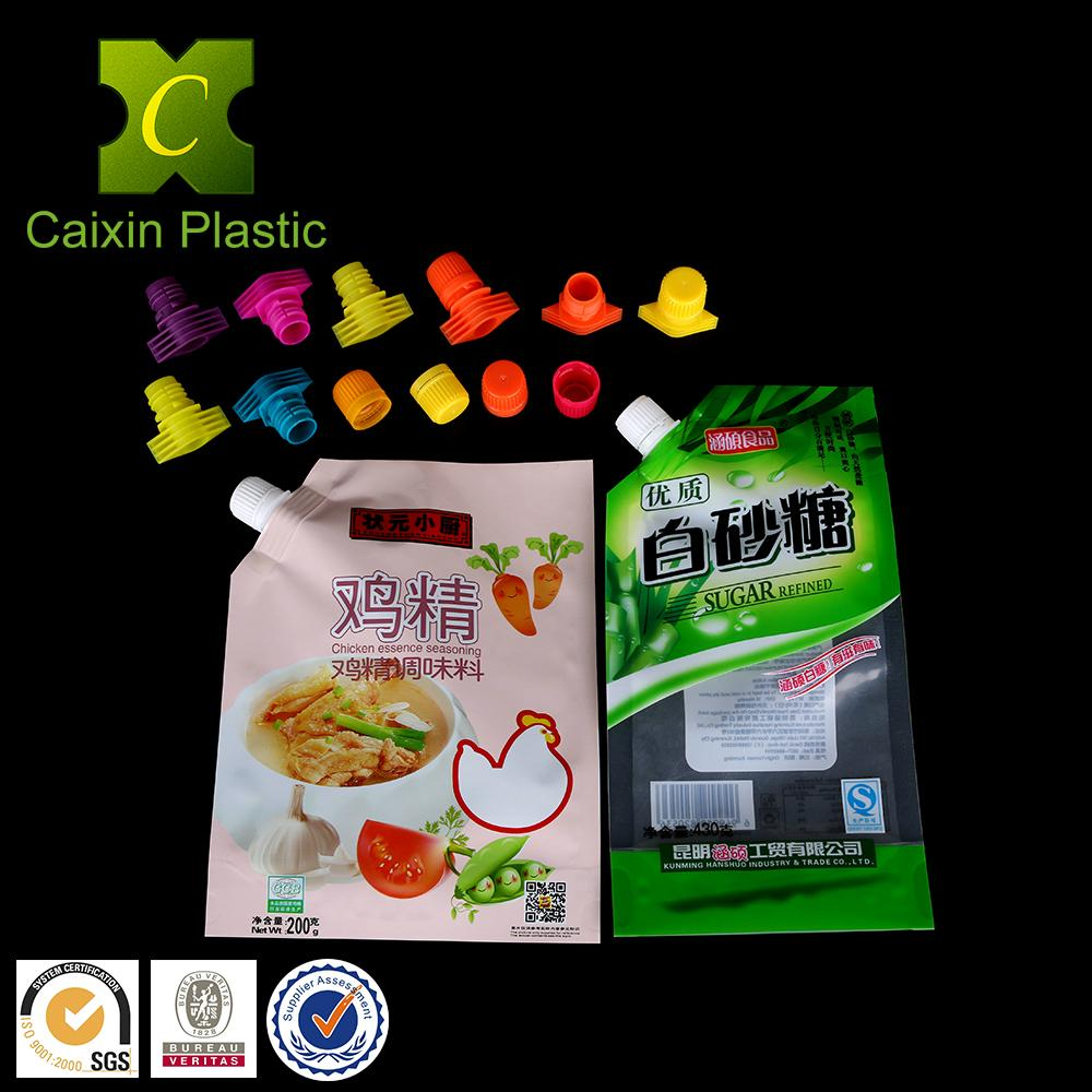 13mm Spout and Cap for Soft Packaging of White Sugar Bag 4