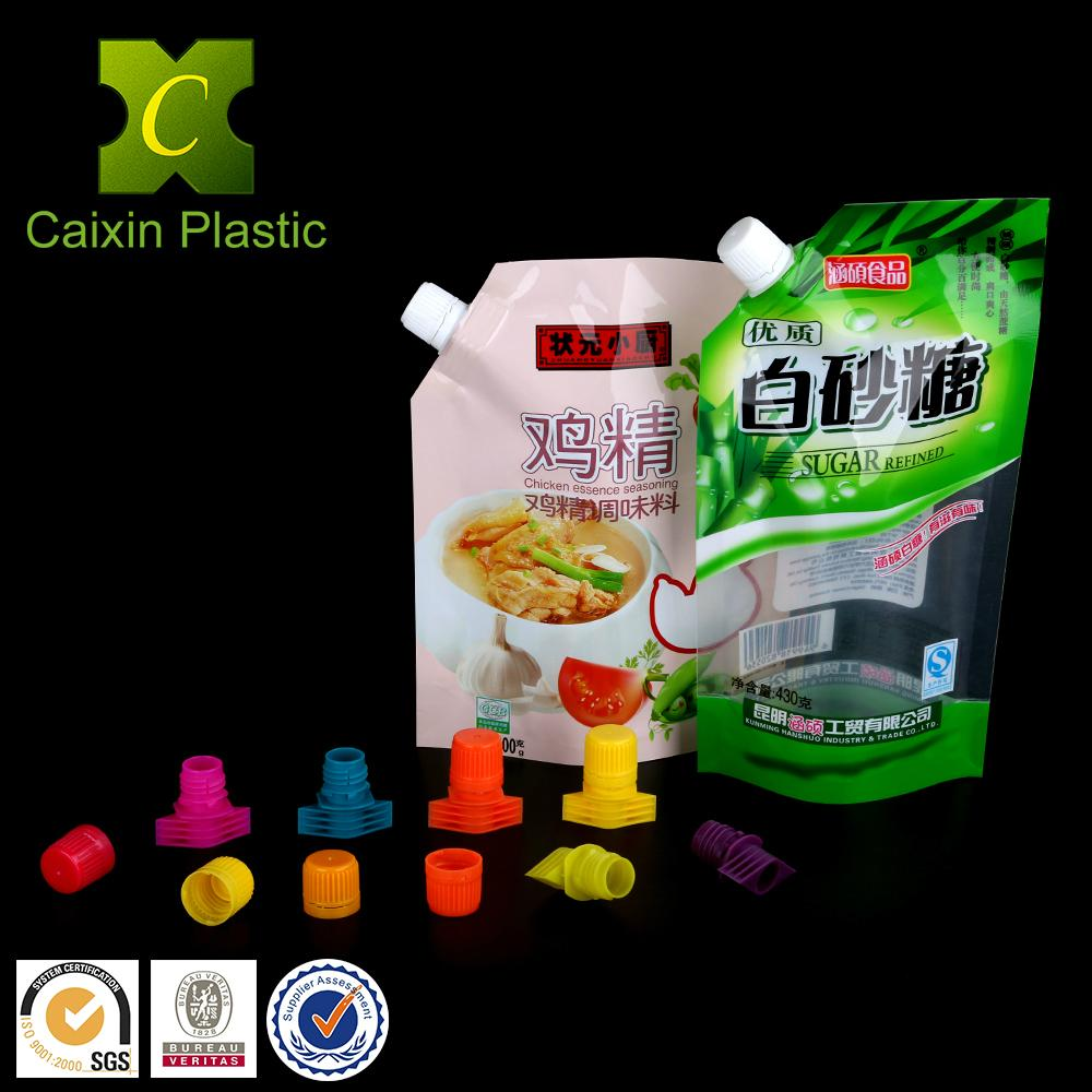 13mm Spout and Cap for Soft Packaging of White Sugar Bag 5