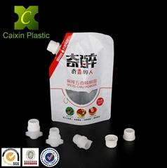 20MM plastic spout and cap for spout bag stand up bag large plastic bag