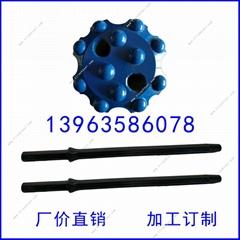 厂价直销40mm高效耐磨优质球齿钎头