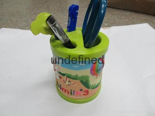 pvc软胶笔筒 1