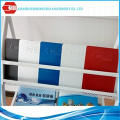 Color corrugated galvanized steel plate