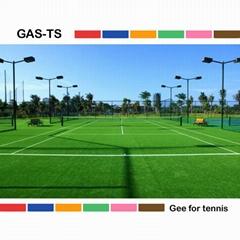 ITF certified artificial grass for tennis court