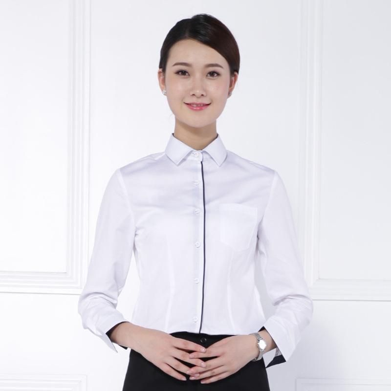 长沙工作服男女同款衬衫职业装批发 3