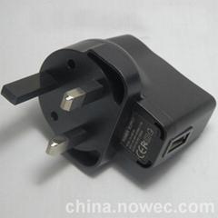 厂家直销5V1A PSE CCC认证充电器