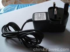 生产工厂批发CEPSECCC认证12V1A12W电源适配器