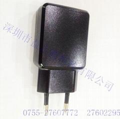 5V2A插墙式电源黑色适配器过CCCPSE认证