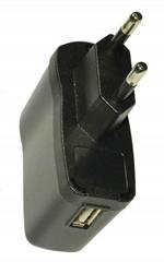 直销5V1A USB欧规电源适配器