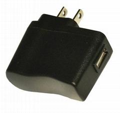 厂家直销9V500MA插墙式电源适配器