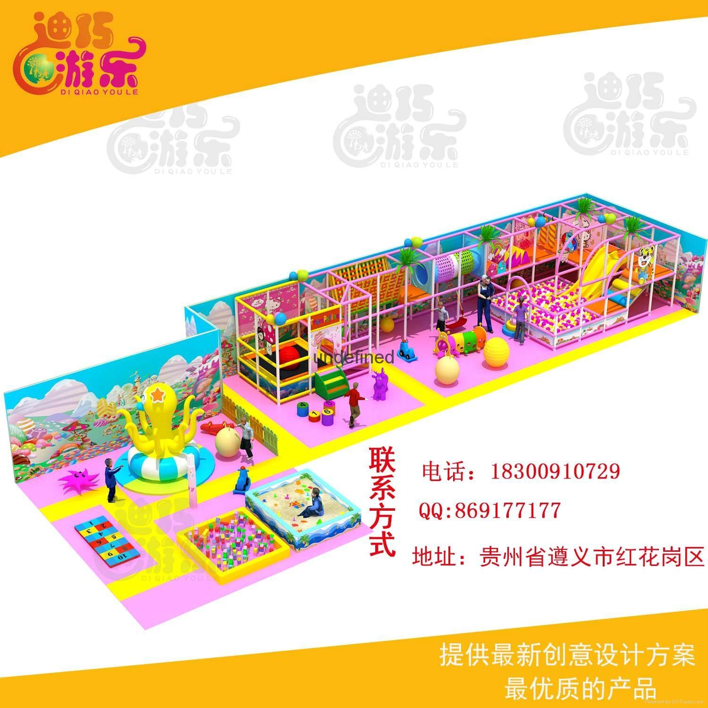 室内儿童乐园游乐园 1