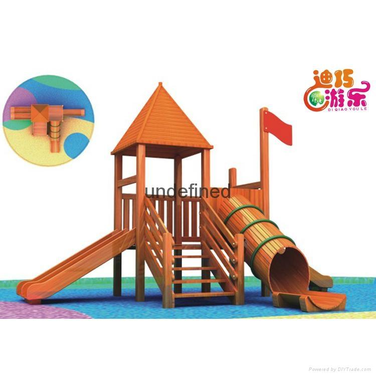 幼儿園教玩滑梯組合售后無憂 3