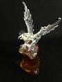 Eagle Wine Animal Shaped glass eagle craft wine bottle for liquor whisky