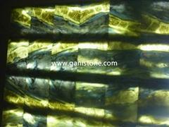 Blue Ocean Marble Backlit