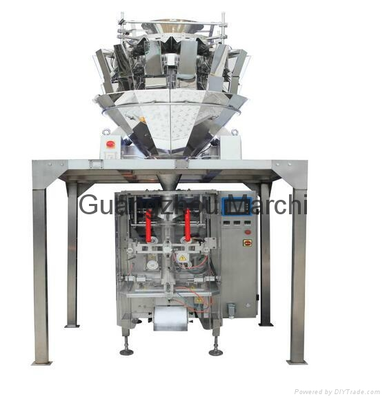 Granule packaging unit