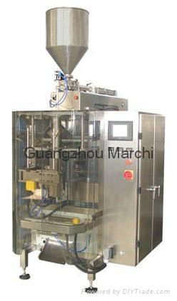 Liquid and paste packaging unit 1