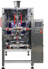 Extrusion type packaging machine