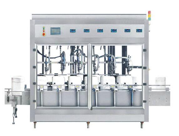 稱重式液體灌裝機 1