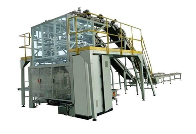 Particle secondary packaging machine 1