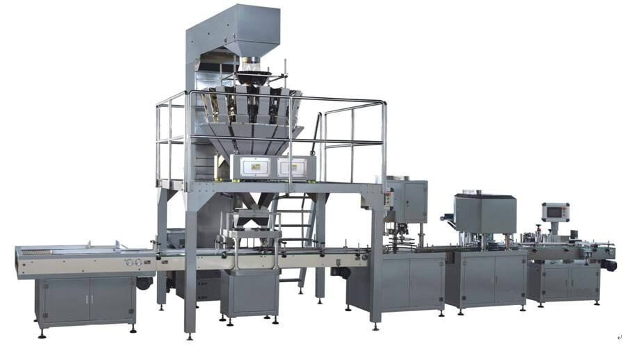 Packaging machine for canned slices 1