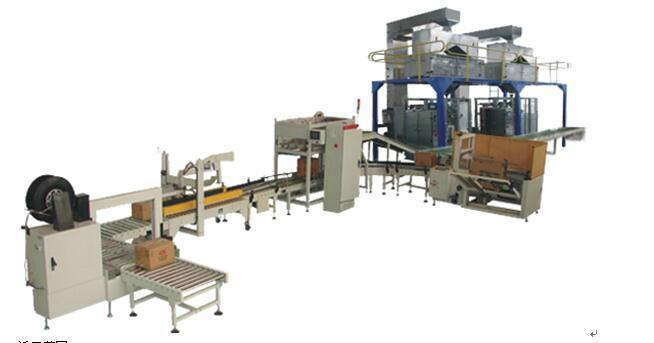 软袋小包装装箱生产线机